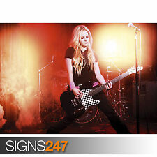AVRIL LAVIGNE - CANADIAN SINGER SEXY STAR (1086) Poster Print Art A1 A2 A3 A4