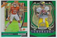 2020 Panini Prizm Draft GREEN Base & RCs 1-170 Complete Your Set You Pick!