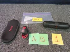 BEATS BY DRE PILL PORTABLE BLUETOOTH SPEAKER BLACK CELL PHONE TABLET USED WORKS