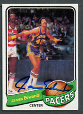James Edwards #113 signed autograph auto 1979-80 Topps Basketball Trading Card