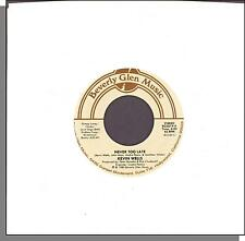 "Kevin Wells - Never Too Late + Talk To Me - Rare 1985 7"" 45 RPM Single!"