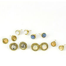 6 Pairs/Set Women Girl Various Shape Styles Ear Studs Earrings Party Jewelry New