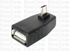 Delock 65473 USB 2.0 Adapter A-Buchse auf Micro B-Stecker gewinkelt sw