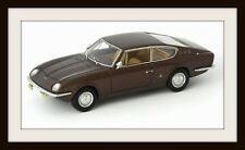 wonderful modelcar VIGNALE FIAT 125 SAMANTHA COUPE 1967 - brown metallic - 1/43