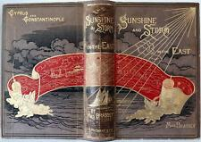 1880 1stED SUNSHINE AND STORM IN THE EAST CYPRUS  CONSTANTINOPLE AUTHOR SIGNED