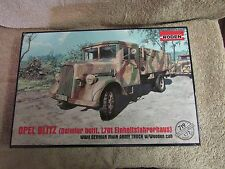 Roden Opel Blitz WWII German Main Army Truck w/Wooden Cab Model Kit     (G 27)