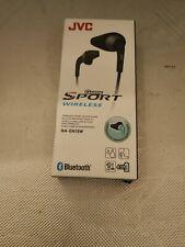 JVC Gumy Sport Wireless Bluetooth Headphones - Black NEW SEALED