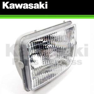 NEW 1999 - 2008 GENUINE KAWASAKI MULE 3000 3010 LEFT HEADLIGHT LENS 23007-1354