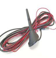 Universal Auto KFZ 16 V Dachantenne Antenne mit Verstärker - DIN mit ca 5m Kabel