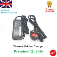 Thermal Printer Charger Power Adapter Zebra GK420D GK420T 24v 4A