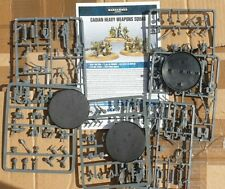 Warhammer 40k, imperial guard cadian heavy weapons squad nos