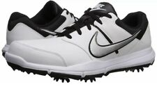 New Nike Durasport 4 Golf Shoes Black/White/Silver 844550-100 Men's Size 12 w