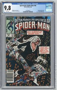 Spectacular Spider-Man #90 ~ CGC 9.8 ~ NEWSSTAND ~1st Black Costume