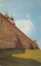 BR12751 Wall of the Goritsky Monastery Pereslavi zalessky  russia