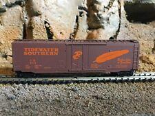 N Scale Micro trains 50' std plug door boxcar TIDEWATER SOUTHERN