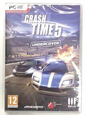 crash time 5 undercover  jeu pc cd dvd rom neuf sous blister c3