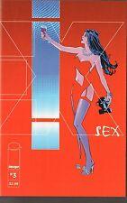 SEX #4,5,10,11 - IMAGE COMICS - JOE CASEY STORY