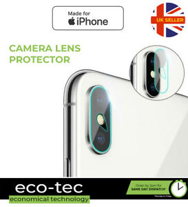 Real Tempered Glass Camera Lens Protector Cover for iPhone XS / XS MAX / X