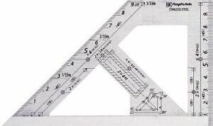 Niigata Sk Square Layout Miter ruler 45 Degrees Carpenter 2x4 ASQ-100SS Japan