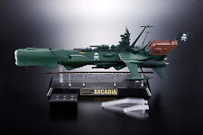 ARCADIA GX-67  BATTLE SHIP - SOUL OF CHOGOKIN -  CAPITAN HARLOCK - BANDAI -