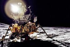 """New 5x7 NASA Photo: Apollo 14 Lunar Module """"Antares"""" on the Moon, 1971"""