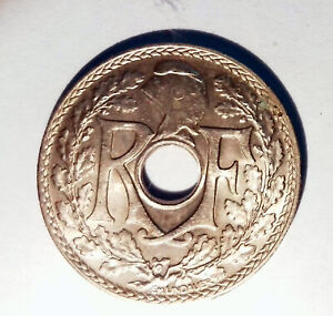 Km #867b - 25 Cent Lindauer .1938 Sup - MONNAIE Frankreich - CC85