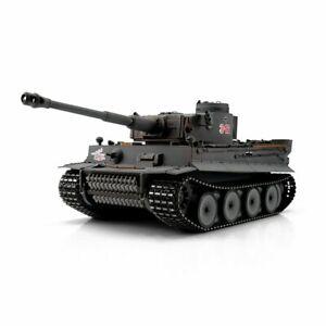 Torro 1/16 German WW2 Tiger 1 RC Tanks 2.4GHz RTR Smoke & Sound, BB & IR Models