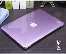 Translucent see-through crystal hard case keyboard cover For Apple macbook Air