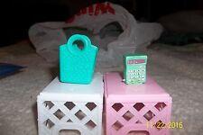 NEW Shopkins Season 3 Green Kelly Calculator 3-134 Polished Pearl w/bag