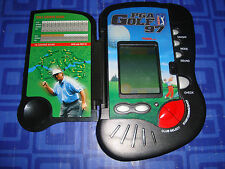 PGA Golf 97 Electronic Handheld Travel Game Club Select   Folding Wallet Style