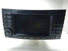 03-06 Mercedes W211 E55 E500 E320 Navigation Radio Receiver Command Head Unit