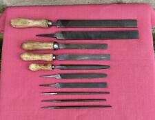 10 Vintage Bedford England Files Rasps Engineering Metalwork File Old Tool