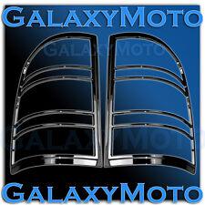 07-13 GMC Sierra 1500+2500+3500+HD Gloss Black Taillight Trim lamp Bezel Cover