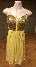 Seduce SAMPLE Gladiator Style Floaty Babydoll Dress Size 12