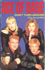 Ace Of Base ‎Don't Turn Around The Aswad Mix CASSETTE SINGLE Euro House Europop