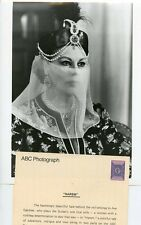 AVA GARDNER SULTAN WIFE VEIL PORTRAIT HAREM ORIGINAL 1986 ABC TV PHOTO