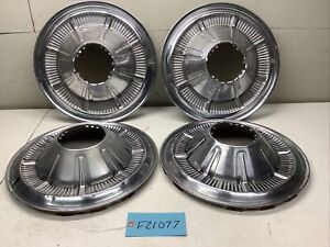 1966-1977 EARLY FORD BRONCO HUBCAP SET - SET OF 4