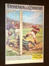 Anno 1962 Inter Fiorentina Milan Herrera Hidegkuti Copertine Domenica Corriere