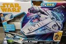 "Star Wars 3.75"" Han Solo Story KESSEL RUN MILLENNIUM FALCON WAVE 16 NEW IN STOCK"