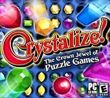 Crystalize! (PC CD ROM Software-2005)THE CROWN JEWEL OF PUZZLE GAMES-TESTED RARE