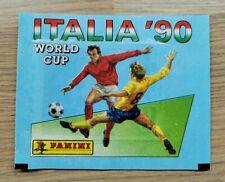Panini World Cup Italia 90 - 1 x Original Sealed Packet Bag - RARE BUITONI VERSI