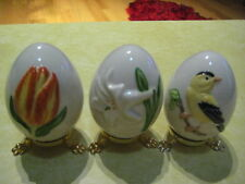 "Vintage Lot (3) Goebel ""Annual Easter Eggs"" (1984/ 1985 & 1987)"