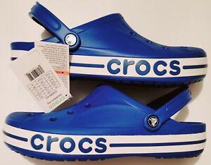 Crocs Bayaband Clog Comfort Shoes Bright Cobalt NWT In Bag Men's Size 13