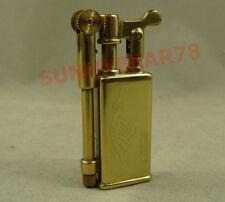 Golden Collectable Vintage Solid brass / copper oil cigarette lighter