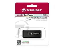 KQ Transcend kompakt Kartenleser P5 USB 2.0 schwarz