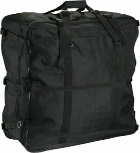 S and S Backpack Travel Case Black Perfect For Airlines As Luggage or Backpack