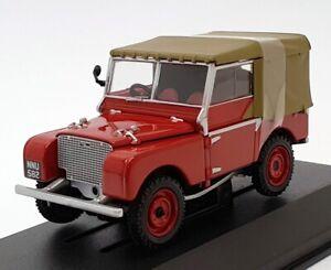"Vanguards 1/43 Scale VA11118 - Land Rover Series 1 80"" - Poppy Red"