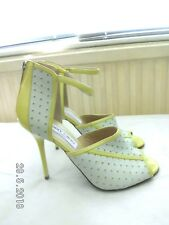 Jimmy Choo RARE ankle strap Heeled 2 colour Sandals Size UK 4  EU 37 US 7