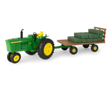 John Deere 1/16 Big Farm 4020 Wagon Set #Lp68579