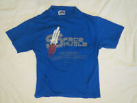 Vintage 1980s NASA Space Shuttle  t shirt Smithsonian size medium Made in USA